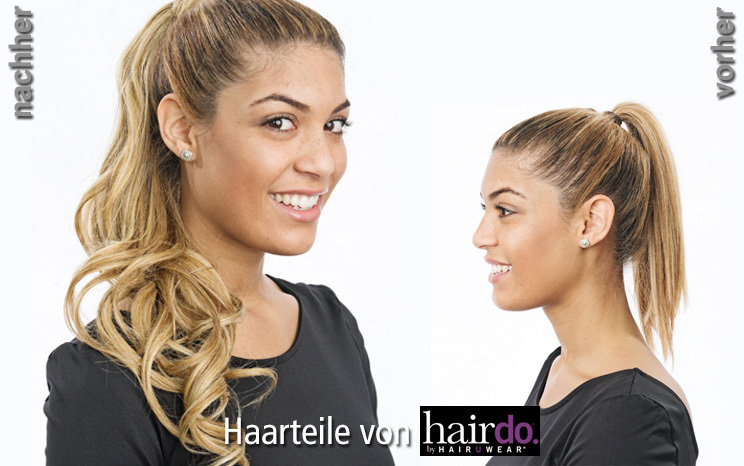 Haarteile von hairdo - Beach Curl Pony (© Great Lengths)