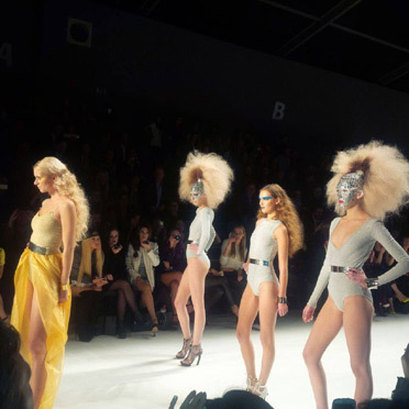 Maybelline Make-Up Runway auf der Berlin Fashion Week:  (© )
