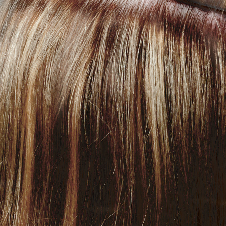 Farbe Nr.64 - mittleres Braun (© Great Lengths)