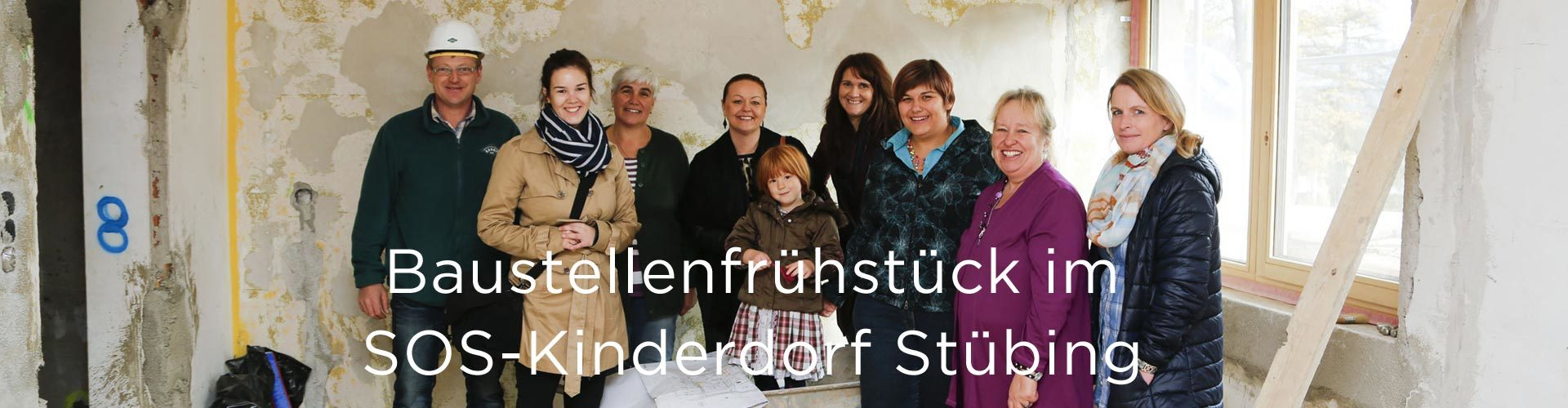 SOS-Kinderdorf Stübing - Baustellenfrühstück (© Great Lengths)