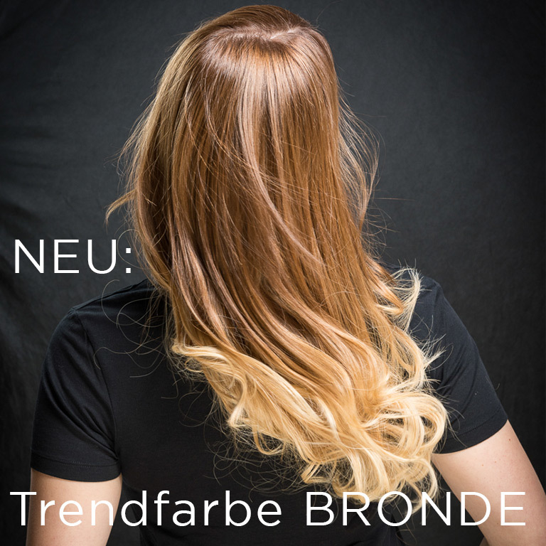 NEU: Trendfarbe BRONDE (© Great Lengths)