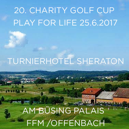 20. Charity Golf Cup Play for Life 25.6.2017 (© Great Lengths)