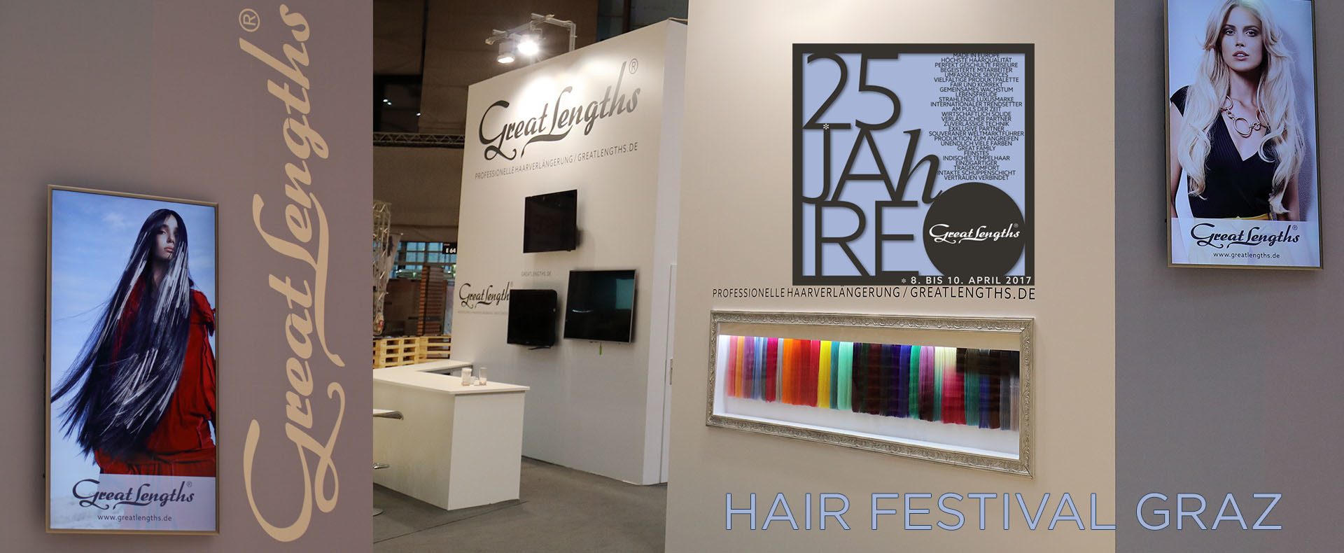 Das HAIR Festival Graz: Der Branchentreff der neuen Art (© Great Lengths)