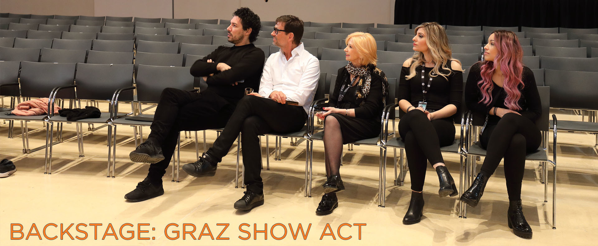 BACKSTAGE: Graz Show Act (© Great Lengths)