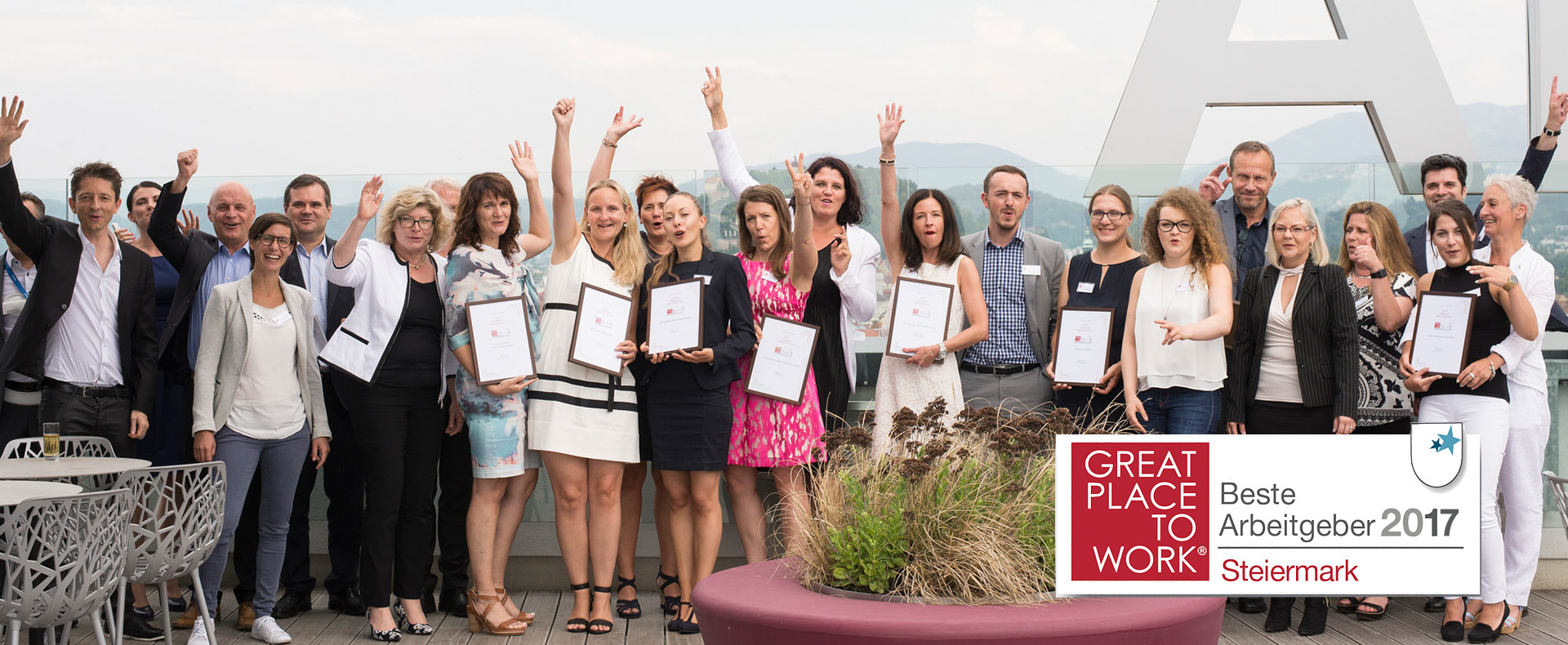 Regional Awards 2017 - Preis für Great Lengths (© Great Place to Work®)