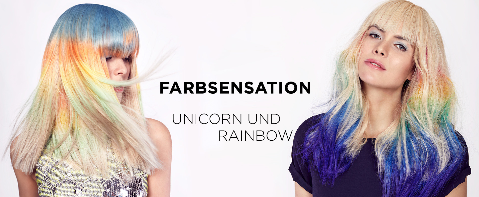 Farbsensation Rainbow und Unicorn (© Great Lengths)