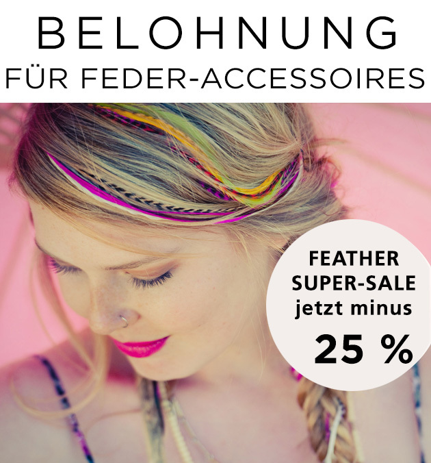 Belohnung für Feder Accessoires (© Great Lengths)