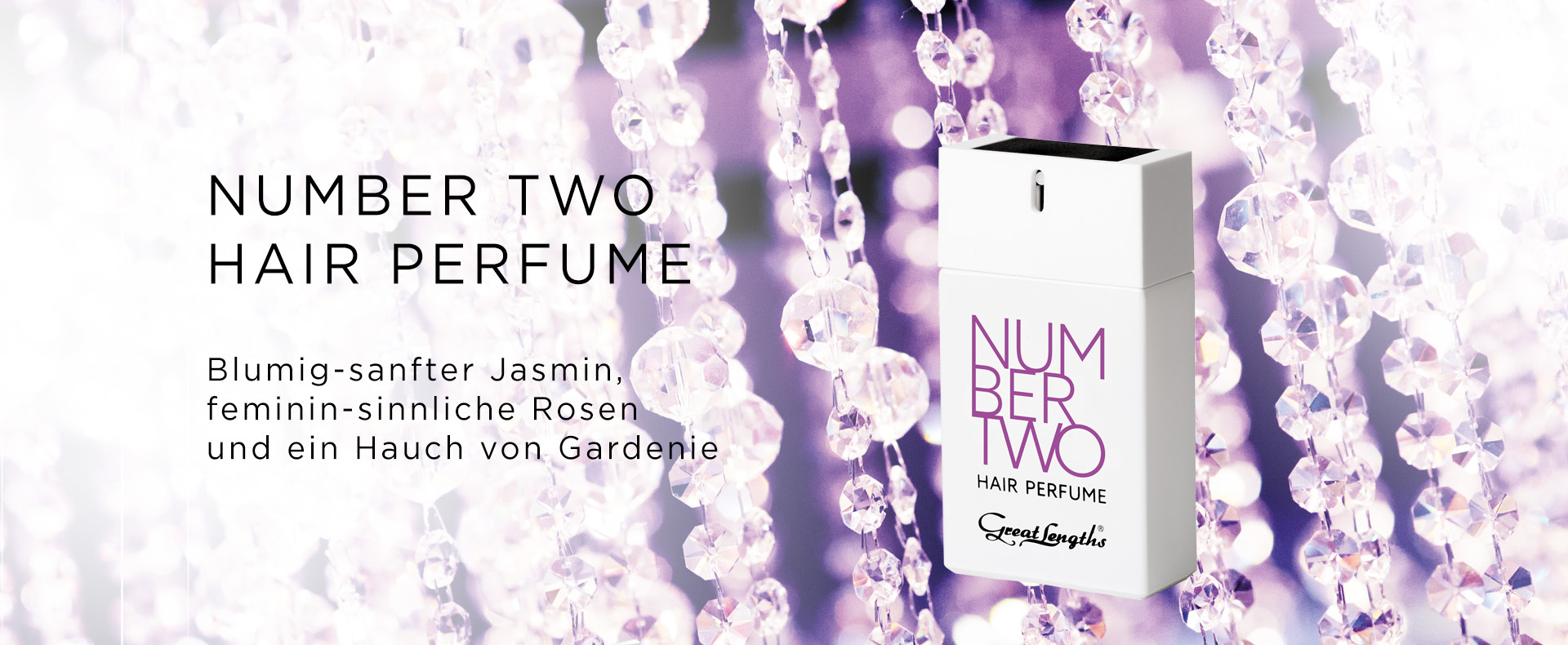 NUMBER TWO - Hair Perfume (© Great Lengths)
