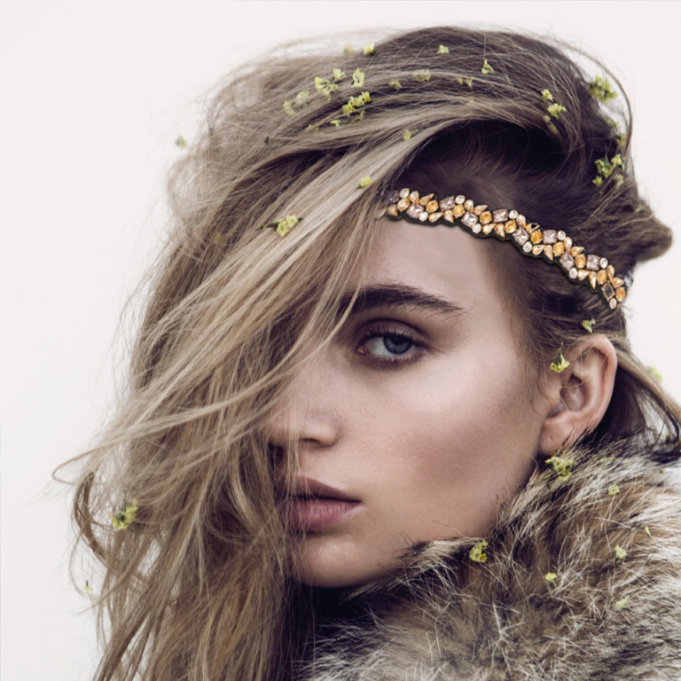 TASSEL Headbands . Winter (© Great Lengths)