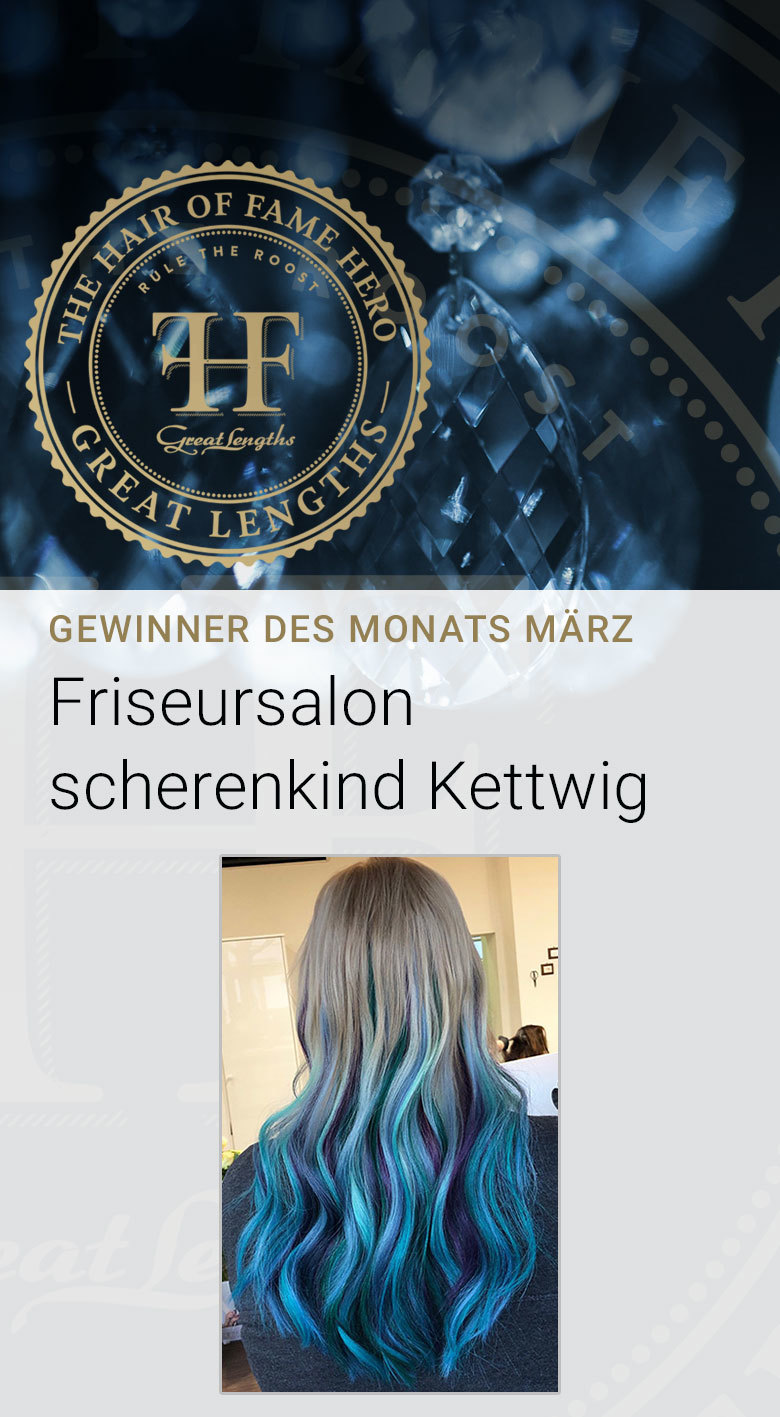 Hair-of-Fame Hero Monat Voting März 2019:  (© Great Lengths)