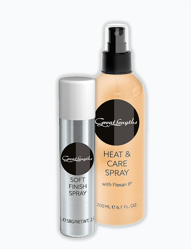 Das perfekte Haarspray für Locken und Volumen (© Great Lengths)