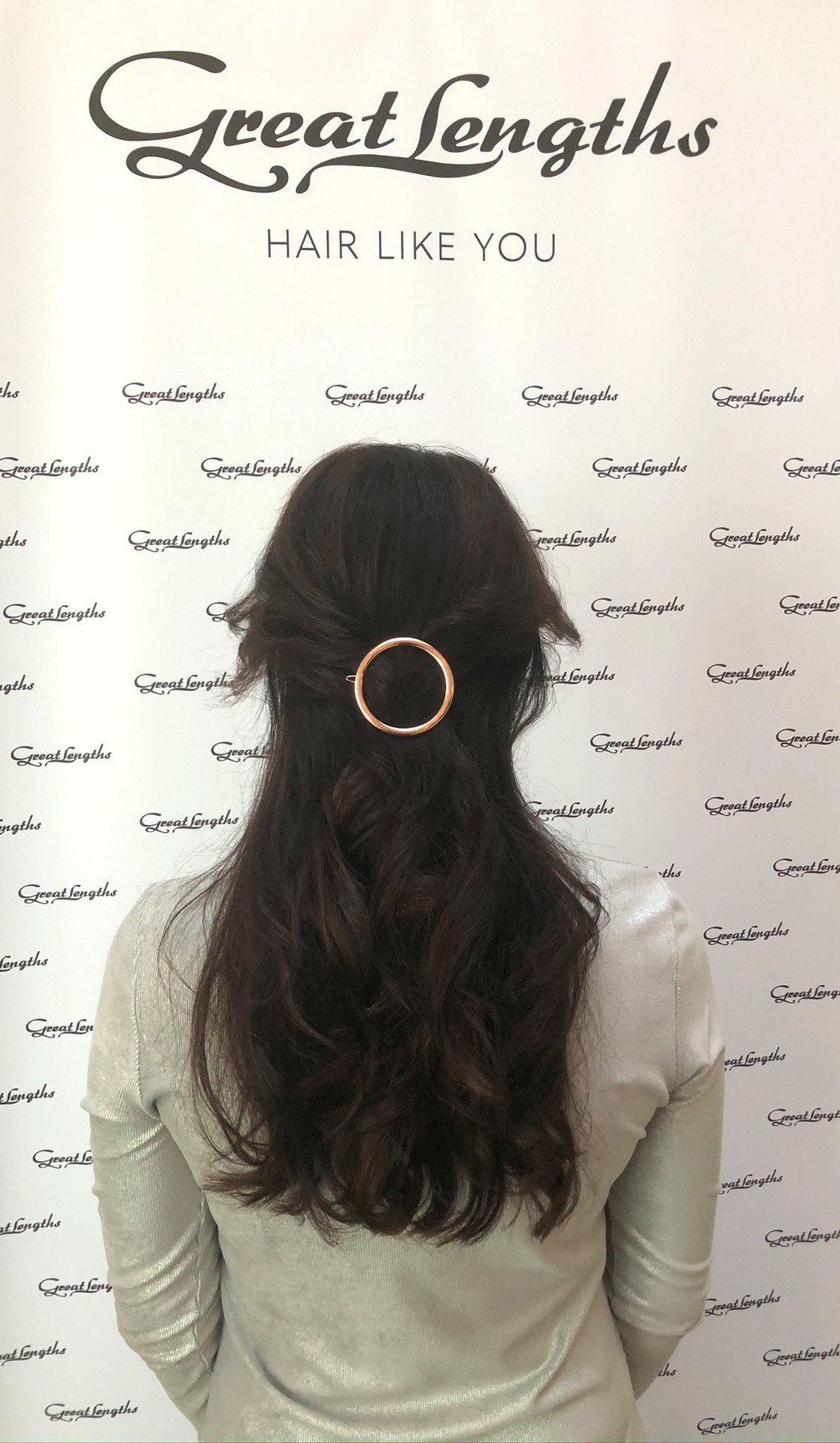 #glbeautylounge:  (© Great Lengths)