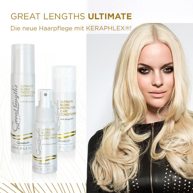 Great Lengths Pflegeserie ... Ultimate (© Great Lengths)
