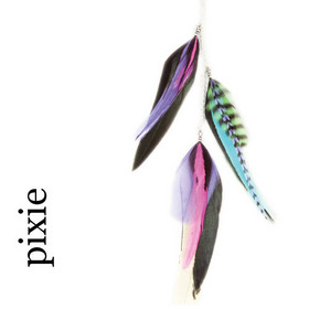 Feather Charms . pixie:  (© Great Lengths)
