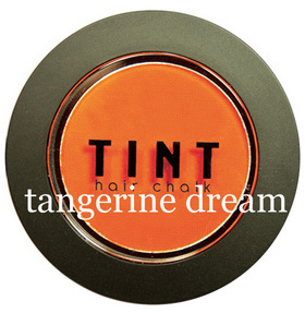 TINT Haarkreide . tangerine dream: tint-tangerine-dream-gross (© Great Lengths)
