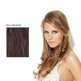 CLIP IN LONG BRAID R10 chestnut:  (© Great Lengths)