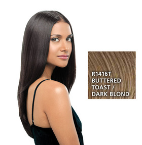 Hairdo 22 inch Clip in Straight, Dark Blond:  (© HAIRUWEAR)