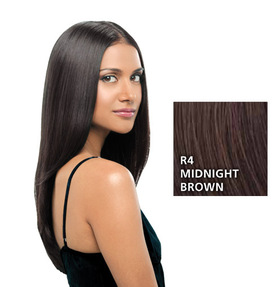 Hairdo 22 inch Clip in Straight, Midnight Brown:  (© HAIRUWEAR)