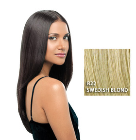 "22"" Straight Extension, Swedish Blond, Hairdo:  (© Great Lengths)"