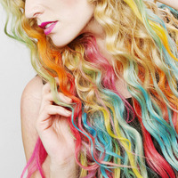 haarkreide alle farben:  (© Great Lengths)