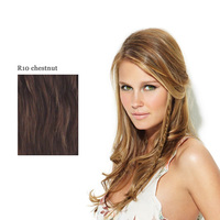 CLIP IN LONG BRAID R10 chestnut