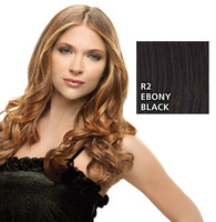 Hairdo 23 inch Clip in Wavy, Ebony Black