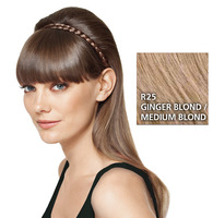 French Braid Band, geflochtenes Haarband, Ginger Blond