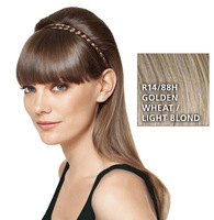 French Braid Band, geflochtenes Haarband, Golden Wheat