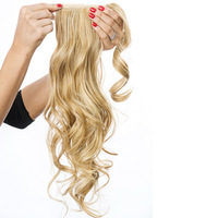 "23"" Wrap Around Pony, unsichtbares Clip-in Haarteil:  (© Great Lengths)"