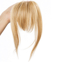 Clip-In Bang (Fringe), unsichtbares Haarteil:  (© Great Lengths)