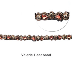 Valerie Headband Zoom:  (© Great Lengths)