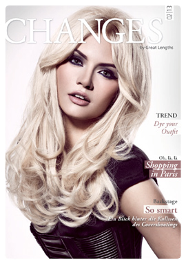 Magazin CHANGES by Great Lengths - einfach raufklicken!